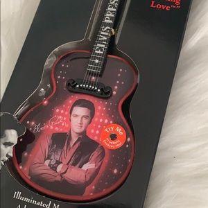 Elvis musical ornament or display guitar